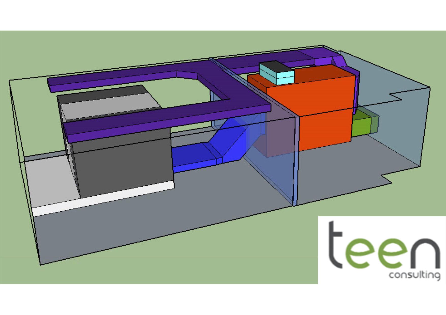 Représentation 3D Salle Serveurs - Schaerbeek - VF - 20160502